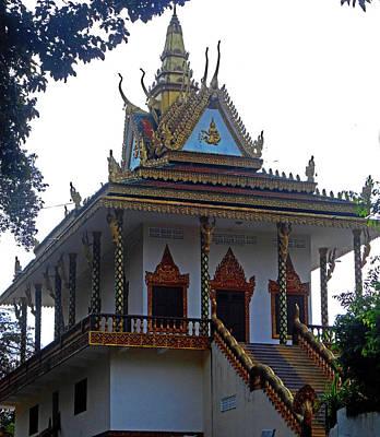 Photograph - Wat Leu Temple 19 by Ron Kandt