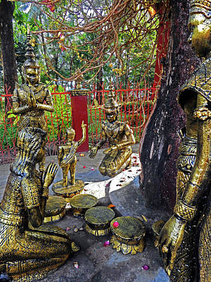 Photograph - Wat Leu Temple 20 by Ron Kandt