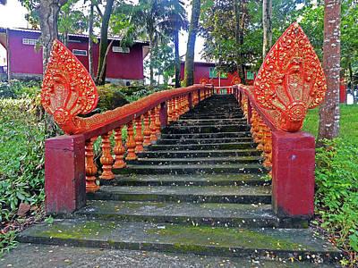 Photograph - Wat Leu Temple 26 by Ron Kandt