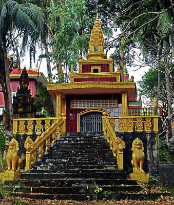 Photograph - Wat Leu Temple 27 by Ron Kandt