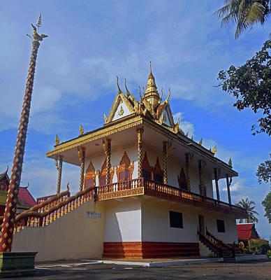Photograph - Wat Leu Temple 4 by Ron Kandt