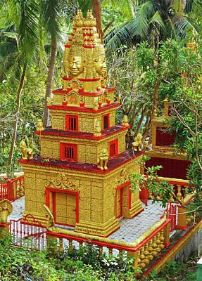 Photograph - Wat Leu Temple 6 by Ron Kandt