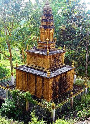 Photograph - Wat Leu Temple 8 by Ron Kandt