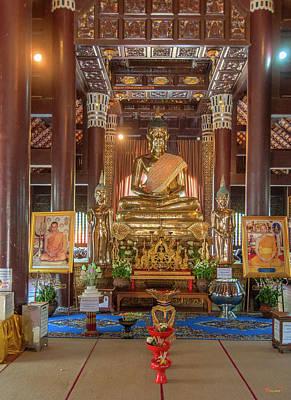 Photograph - Wat Lok Molee Phra Wihan Buddha Images Dthcm1999 by Gerry Gantt