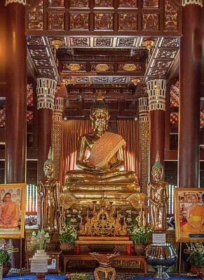 Photograph - Wat Lok Molee Phra Wihan Buddha Images Dthcm2000 by Gerry Gantt