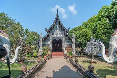 Photograph - Wat Lok Molee Phra Wihan Dthcm1995 by Gerry Gantt
