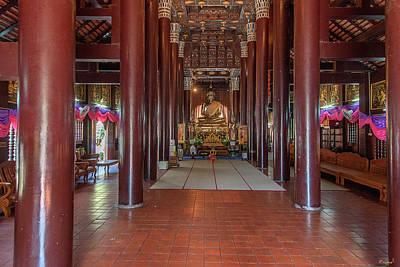 Photograph - Wat Lok Molee Phra Wihan Interior Dthcm1997 by Gerry Gantt