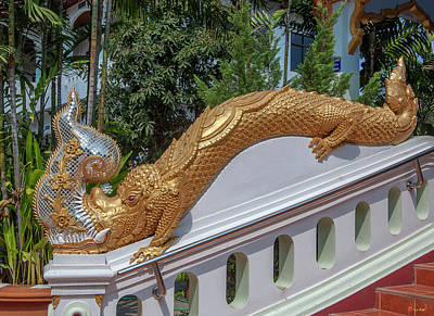 Photograph - Wat Mae San Ban Luk Ho Tham Makara Or Sea Dragon Dthlu0206 by Gerry Gantt