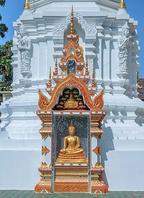 Photograph - Wat Mae San Pa Daet Phra That Chedi Buddha Shrine Dthlu0219 by Gerry Gantt