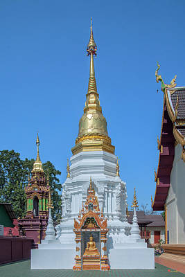 Photograph - Wat Mae San Pa Daet Phra That Chedi Dthlu0218 by Gerry Gantt