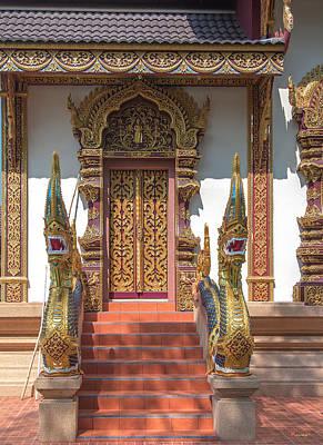 Photograph - Wat Mae San Pa Daet Wihan Luang Door Dthlu0214 by Gerry Gantt