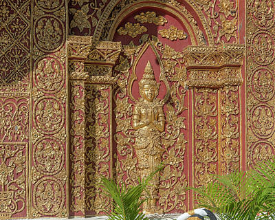 Photograph - Wat Mahawan Phra Wihan Angel Dthcm1173 by Gerry Gantt