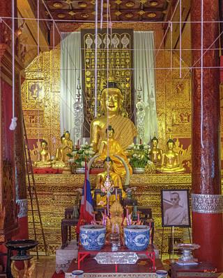 Photograph - Wat Mahawan Phra Wihan Buddha Images Dthcm1169 by Gerry Gantt