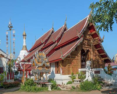 Photograph - Wat Mahawan Phra Wihan Dthcm1161 by Gerry Gantt