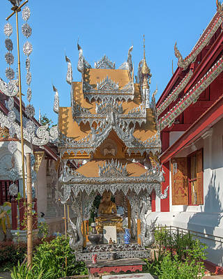 Photograph - Wat Mahawan Spirit House Dthcm1184 by Gerry Gantt