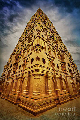 Photograph - Wat Mon Sangkhlaburi by Adrian Evans