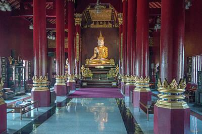 Photograph - Wat Montien Phra Ubosot Interior Dthcm0522 by Gerry Gantt