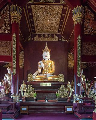 Photograph - Wat Montien Phra Ubosot Principal Buddha Image Dthcm0524 by Gerry Gantt