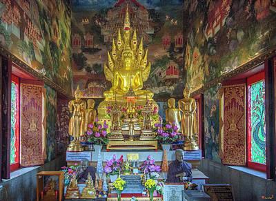 Photograph - Wat Nak Prok Phra Wihan Interior Dthb1867 by Gerry Gantt
