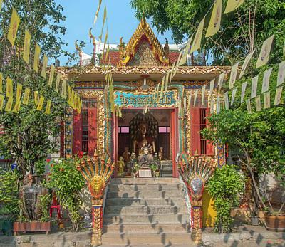 Photograph - Wat Nak Prok Wihan For A Revered Monk Dthb1890 by Gerry Gantt