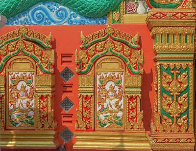 Photograph - Wat Nak Prok Wihan Ornamentation Dthb1886 by Gerry Gantt