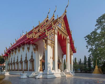 Photograph - Wat Nakon Sawan Or Wat Hua Muang Phra Ubosot Dthns0001 by Gerry Gantt