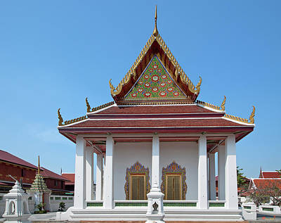 Photograph - Wat Nang Ratchaworawihan Phra Ubosot Dthb0439 by Gerry Gantt