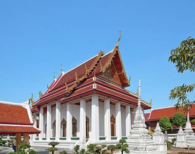 Photograph - Wat Nang Ratchaworawihan Phra Wihan Dthb0882 by Gerry Gantt