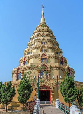 Photograph - Wat Nong Bua Worawet Wisit Phra Chedi City Of Nirvana Dthcm2088 by Gerry Gantt