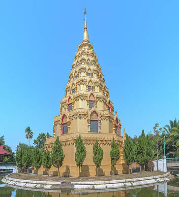 Photograph - Wat Nong Bua Worawet Wisit Phra Chedi City Of Nirvana Dthcm2092 by Gerry Gantt