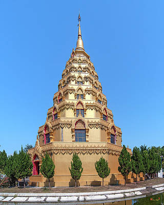Photograph - Wat Nong Bua Worawet Wisit Phra Chedi City Of Nirvana Dthcm2093 by Gerry Gantt