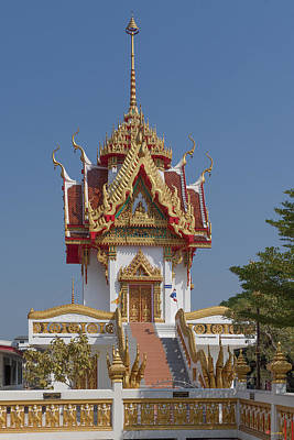 Photograph - Wat Nong Yai Hall Of Buddha Dthcb0220 by Gerry Gantt