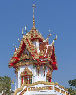 Photograph - Wat Nong Yai Hall Of Buddha Dthcb0225 by Gerry Gantt