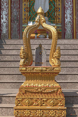 Photograph - Wat Nong Yai Phra Ubosot Boundary Stone Dthcb0214 by Gerry Gantt