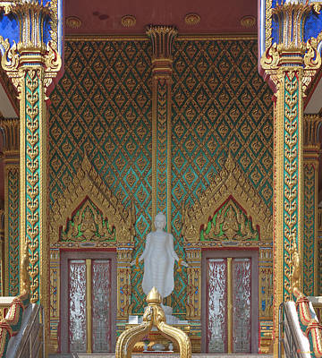 Photograph - Wat Nong Yai Phra Ubosot Entrance Dthcb0213 by Gerry Gantt