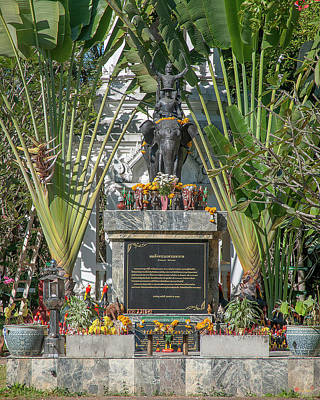 Photograph - Wat Pa Dara Phirom King Naresuan Shrine Dthcm1625 by Gerry Gantt