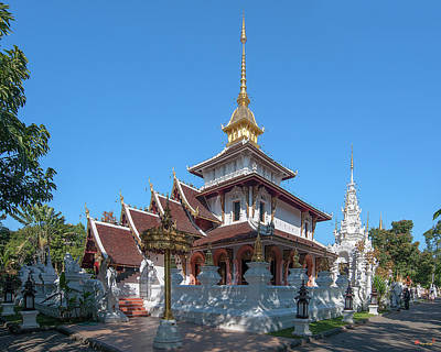 Photograph - Wat Pa Dara Phirom Phra Chulamani Si Borommathat Dthcm1603 by Gerry Gantt