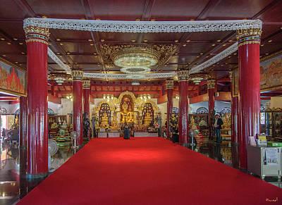 Photograph - Wat Pa Dara Phirom Phra Chulamani Si Borommathat Interior Dthcm1607 by Gerry Gantt