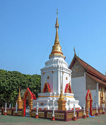 Photograph - Wat Pa Koi Tai Phra That Chedi Dthcm1471 by Gerry Gantt