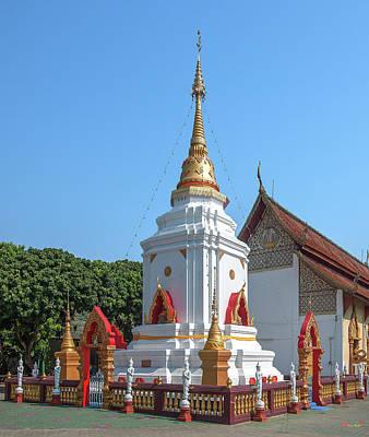 Photograph - Wat Pa Koi Tai Phra That Chedi Dthcm1471 by Gerry Gantt