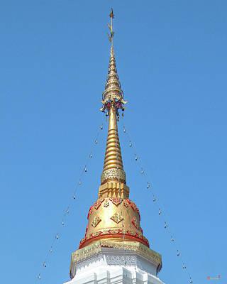 Photograph - Wat Pa Koi Tai Phra That Chedi Pinnacle Dthcm1472 by Gerry Gantt