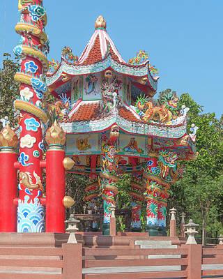 Photograph - Wat Pa Neramit Mae Taeng Chinese Shrine Dthcm2062 by Gerry Gantt