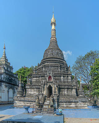 Photograph - Wat Pa Pao Phra Chedi Dthcm0189 by Gerry Gantt