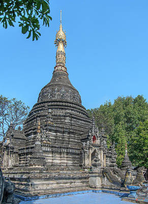 Photograph - Wat Pa Pao Phra Chedi Dthcm2025 by Gerry Gantt