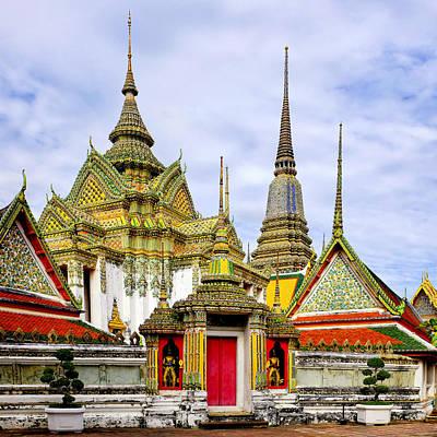 Photograph - Wat Pho by Fabrizio Troiani