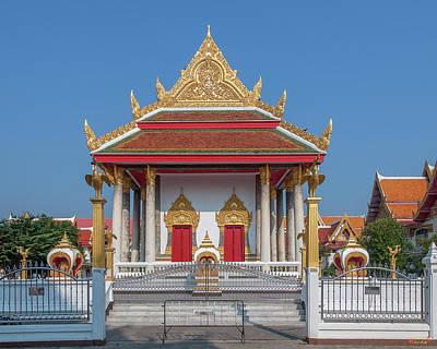 Photograph - Wat Photharam Phra Ubosot Dthns0073 by Gerry Gantt
