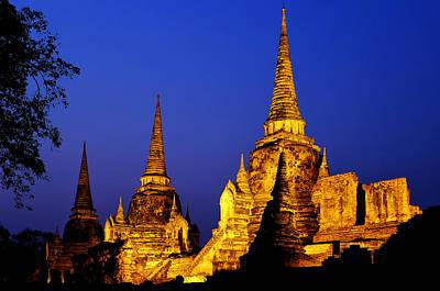 Photograph - Wat Phra Si Sanphet by Fabrizio Troiani