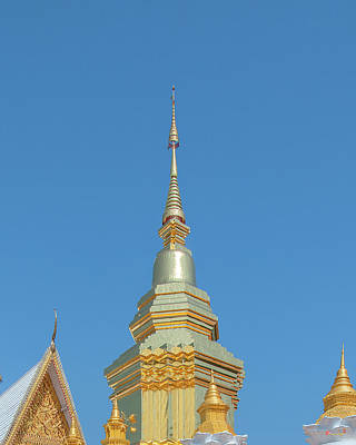 Photograph - Wat Phra That Chom Kitti Chedi Phra That Chom Kitti Pinnacle Dthcm1951 by Gerry Gantt