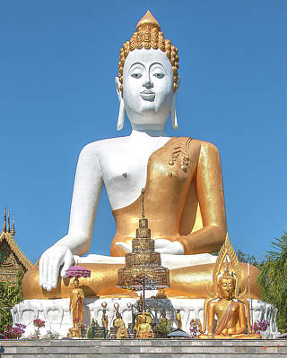 Photograph - Wat Phra That Doi Kham Phra Buddha Napeesipinkarat Dthcm2373 by Gerry Gantt