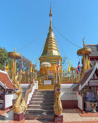 Photograph - Wat Phra That Doi Kham Phra Chedi Dthcm2365 by Gerry Gantt